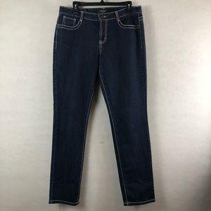 Nine West Jeans Jeggings Dark Wash Size 30